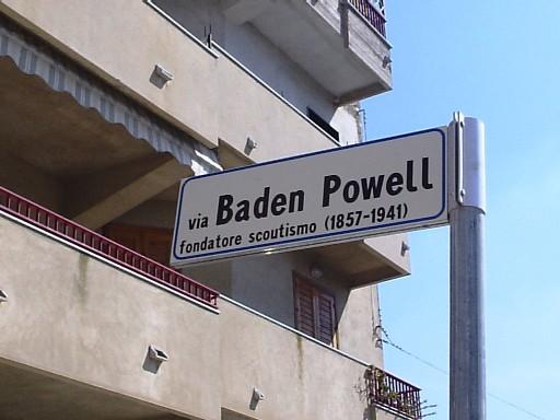 Via Baden-Powell a Niscemi (CL)
