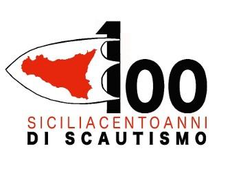 Logo centenario sicilia